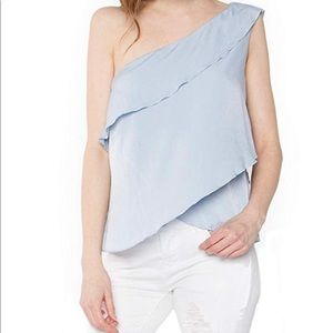 NWT | one shoulder top